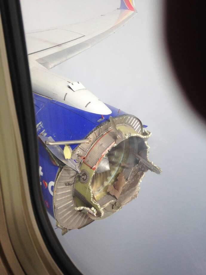 The flight from New Orleans bound for Orlando, Fla., diverted to Pensacola, Fla., after the pilot detected something had gone wrong with the engine. On Monday, the National Transportation Safety Board said that an engine fan blade on the jet broke off and the stub of the blade shows signs of metal fatigue. The plane made a safe emergency landing after shrapnel from the broken engine hit the fuselage.
