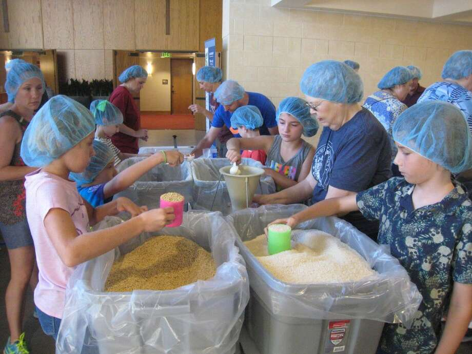 For the second year, Kingwood United Methodist Church along with its new church partner, Journey Church, was able to raise money to purchase the meals to package for the Mission of Hope Haiti Food project and hosted two packing events for the volunteers Sept. 10.