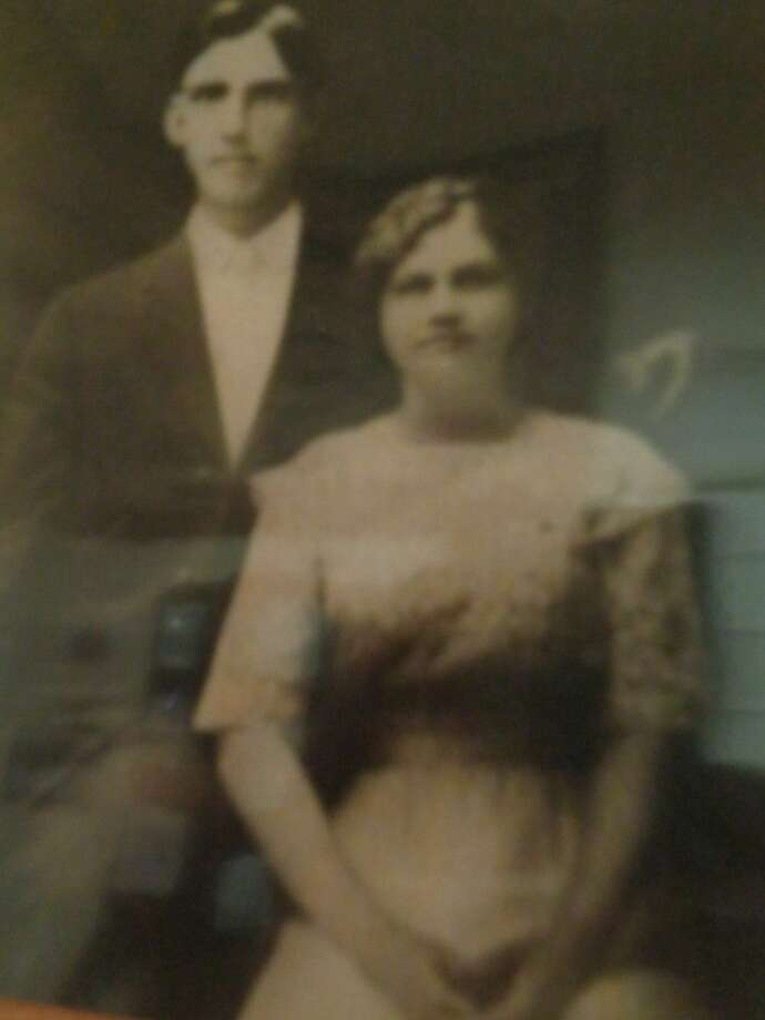 """David Arnelder Reidland, also referred to as """"D.A.,"""" and his wife Hilda Nelson Reidland moved to Texas in 1897."""