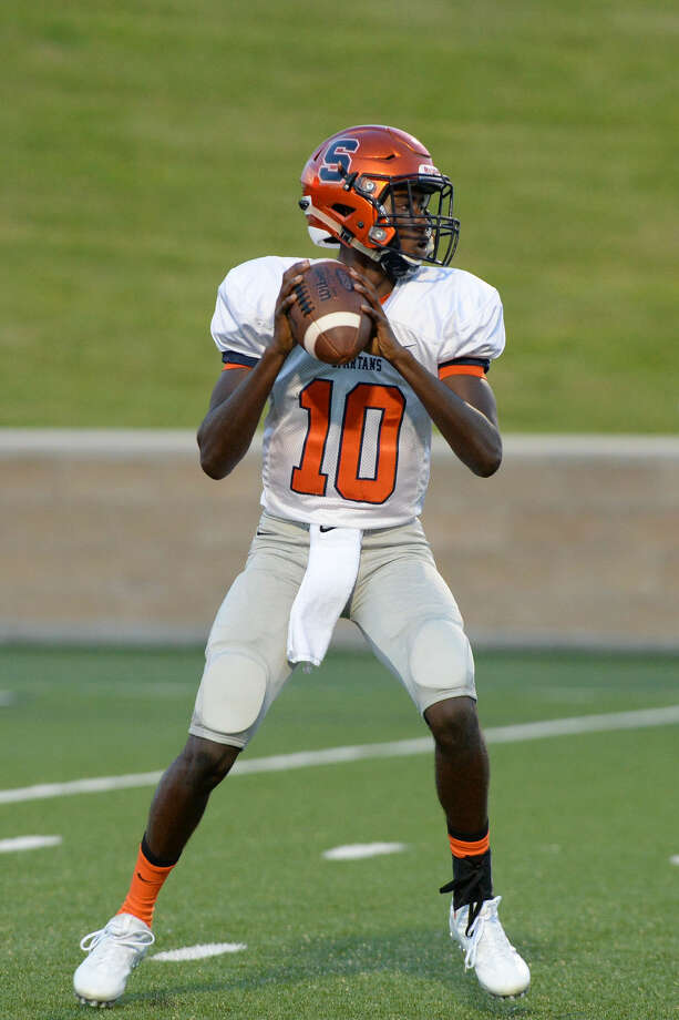 Seven Lakes' John Harrington scored during last week's loss to Foster. The Spartans close non-district play Sept. 17 against Alief Taylor at Rhodes Stadium. Photo: Craig Moseley