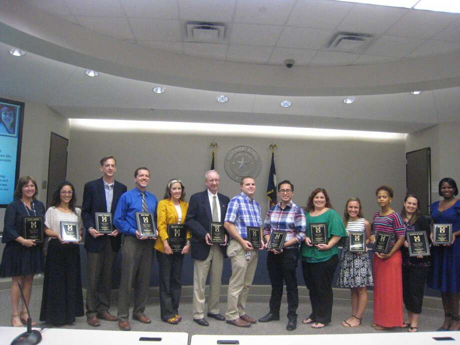 The 2016-2017 Teachers of the Year for middle and high schools were named and honored during the Sept. 13 board meeting.