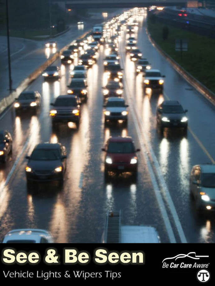 For safety's sake, it's a bright idea to regularly check your car's lights and windshield wipers so you can see and be seen. (NAPS)