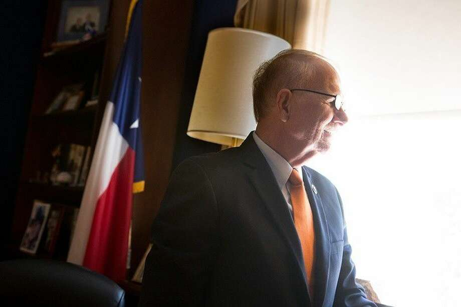 Rep. Ted Poe, R-Texas, in his office on Capitol Hill in Washington, D.C., on Sept. 14. Photo: Allison Shelley
