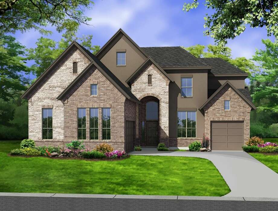 The 3,595-square-foot San Germain design is one of two model homes Newmark plans for Shadow Ridge, a 22-acre neighborhood that will open in September.