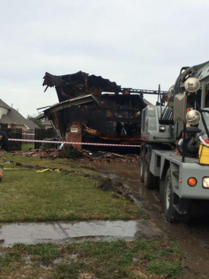 An early morning fire Tuesday destroyed this home in the Lakes of Savannah.