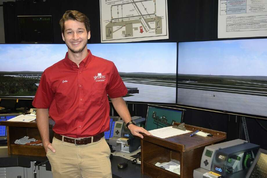 Huffman's Jake Harding is currently in his fourth semester at Texas State Technical College in Waco pursuing an Associate of Applied Science degree in Air Traffic Control. His goal is to work in air traffic control in Colorado.
