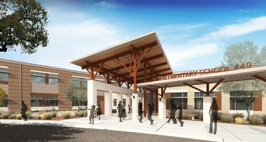 Shown here is an artist's rendering of what Fort Bend ISD's elementary school 49 will look like. Photo: Fort Bend ISD