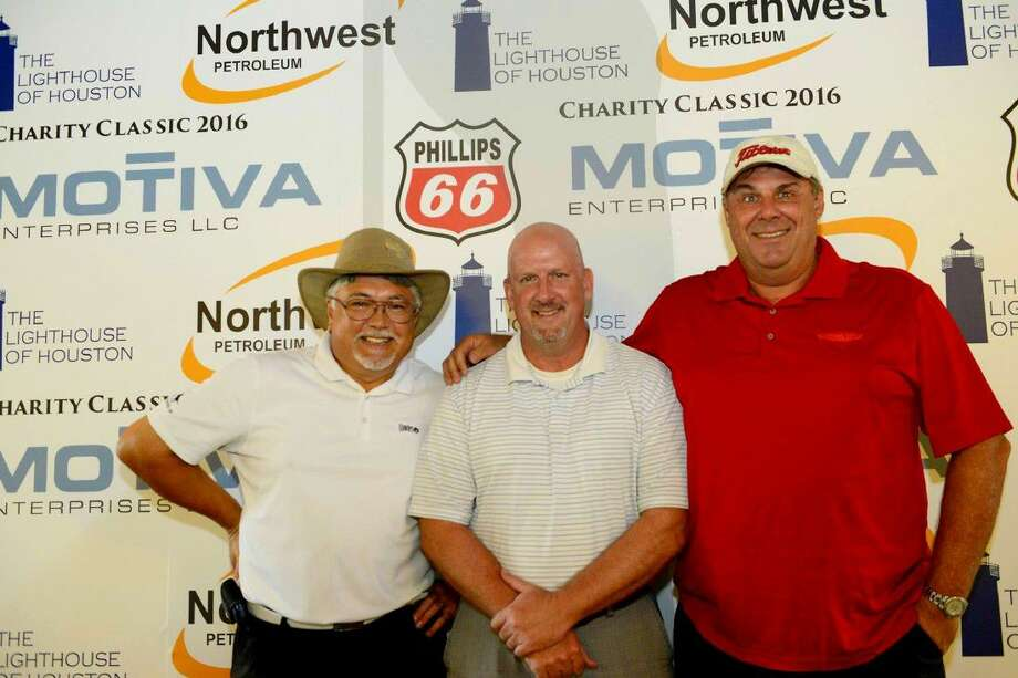 From left are Bob Hamilton, Phillips 66 Senior Sales Representative; Matt Minnick, Phillips 66 Manager-Wholesale Gulf Coast & Consignment US Marketing; and Greg Hart, Phillips 66 Manager of Brands, Global Marketing. Photo: Submitted Photo