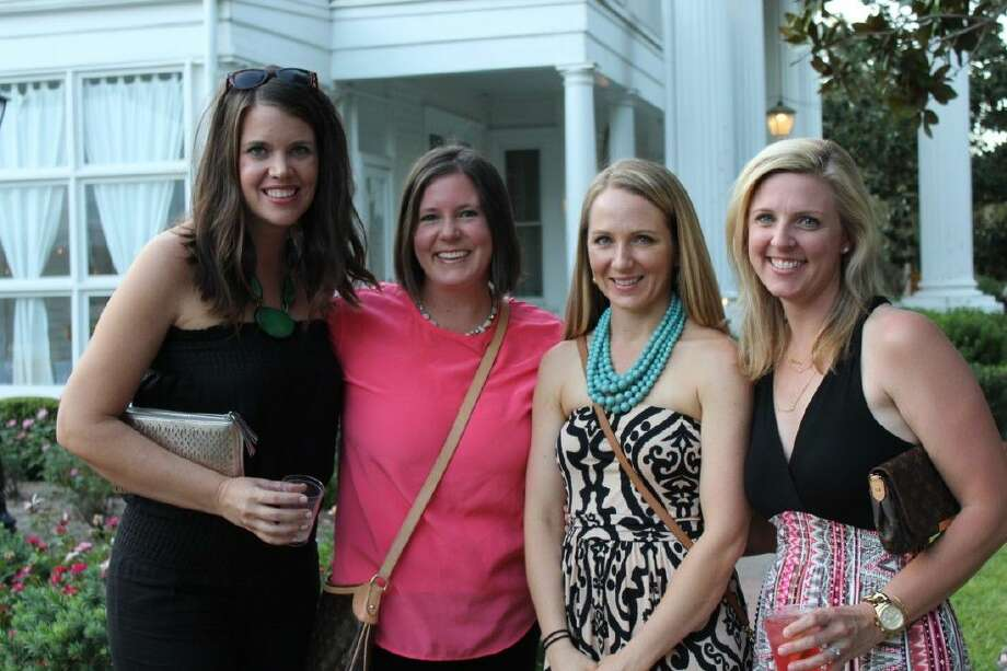 The Fort Bend Museum Bites & Brews will be Oct. 1. Among last year's attendees were Keely Knipling, left, Beth Kellner, Deidre Doggett and Courtney Raska.