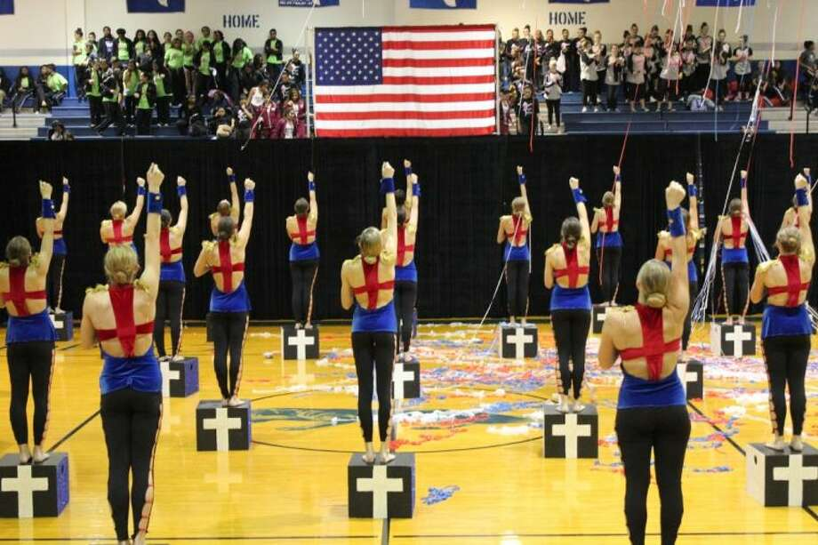 The Kingwood High School Fillies dance team achieved the highest overall score at the regional competition for its high kick performance - the highest scoring high kick routine in the history of the Fillies organization.