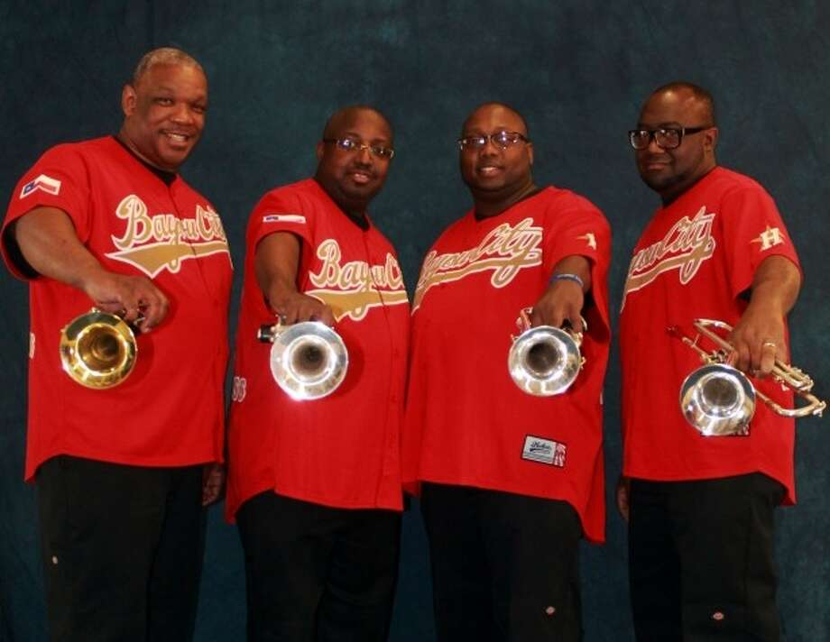 """The official kickoff event for the Houston International Jazz Festival, """"the Downbeat,"""" will happen on Friday, Aug. 1, at the Museum District Bistro & Lounge, featuring the Bayou City Brass Band, pictured, and more artists to be announced."""