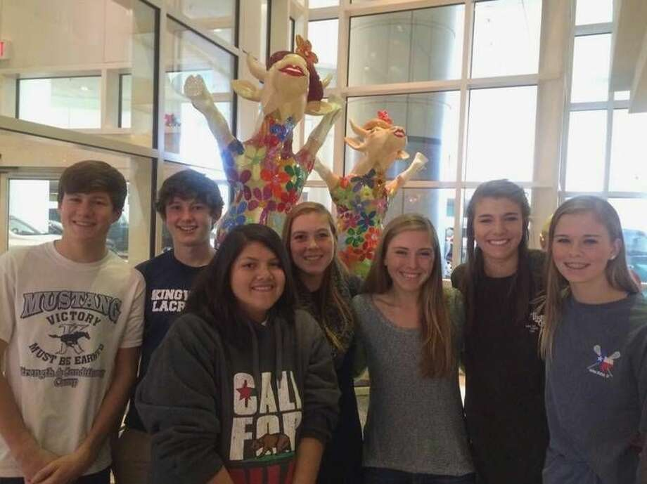 Andrew Wambaugh, Will Myers, Jennifer Villanueva, Jamie Campbell, Natalie Cooley, Sami Bailey, Theresa Limegrover at Texas Children's Hospital.