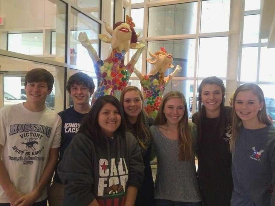 Andrew Wambaugh, Will Myers, Jennifer Villanueva, Jamie Campbell, Natalie Cooley, Sami Bailey, Theresa Limegrover at Texas Children's Hospital.