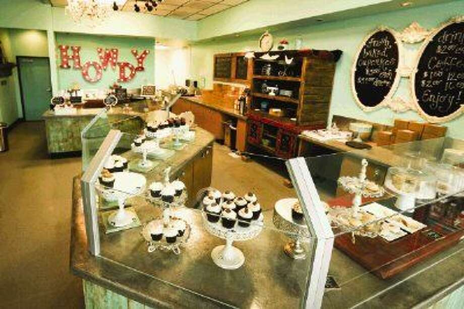 The inside of Sweet Revenge Bake Shoppe off of College Park Drive in The Woodlands. Photo: Michael Minasi