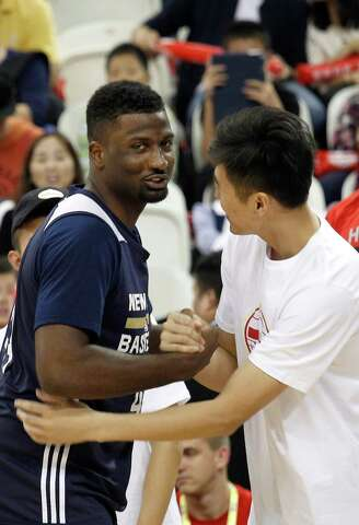 4db815a9aa0 James Harden embraces trip to China - Houston Chronicle