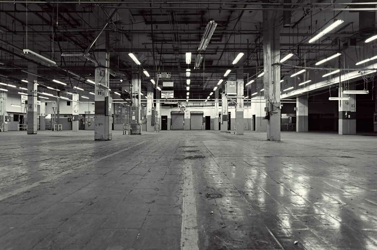 Interior shot of the former downtown post office building.