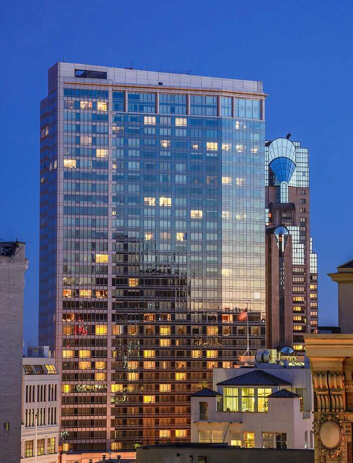 The northern facade of the Four Seasons hotel seen at dusk.� Photo: Jacob Elliott Photography