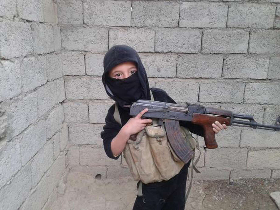 Photos posted on on social media accounts by Islamic State supporters and archived by European intelligence agencies. Photo: THE WASHINGTON POST
