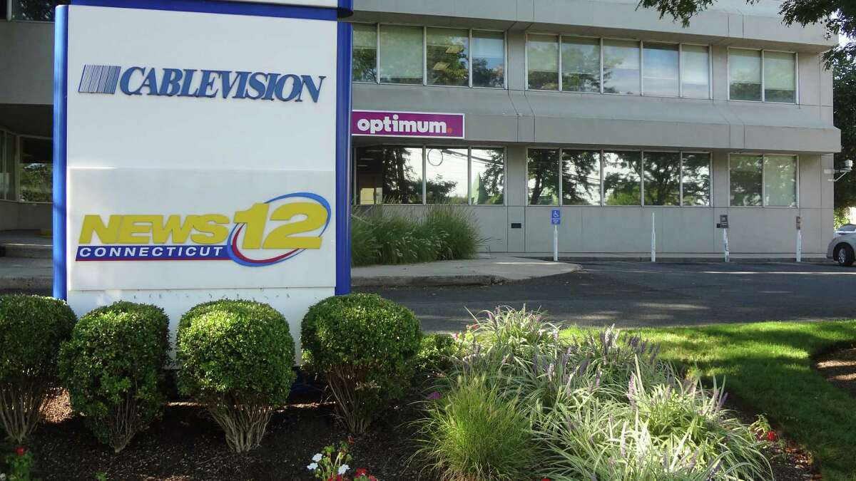 Cablevision's offices in Norwalk, where its Connecticut News 12 studio is also located.