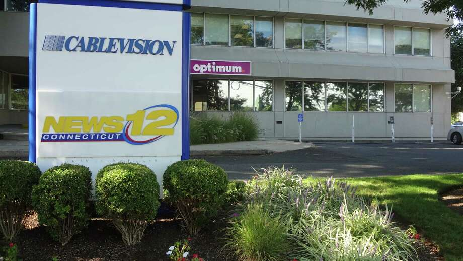 Cablevision's offices in Norwalk, where its Connecticut News 12 studio is also located. Photo: Alexander Soule / Hearst Connecticut Media File Photo / Stamford Advocate