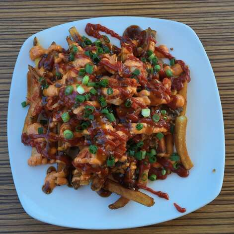 Delicious ConceptsRepublic Diner + Sojubang  Where: 1221 W. 11th  Photo: kimchi fries Photo: Donna V. Via Yelp, Yelp