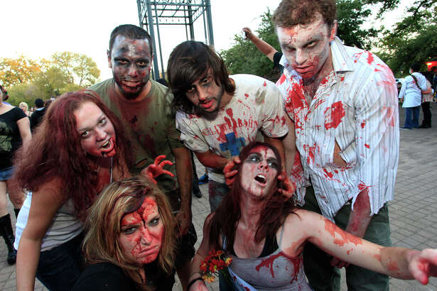 San Antonio Zombie Walk 2016: Tower of the Americas, 739 E. César E. Chávez Blvd., ticketfly.com. Join hundreds of people dressed as zombies as they roam through downtown San Antonio. $5. 4-10 p.m. Oct. 30.