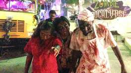 """Zombie Apocalypse"" is one of the attractions at the annual Fright Fest at Six Flags Fiesta Texas."