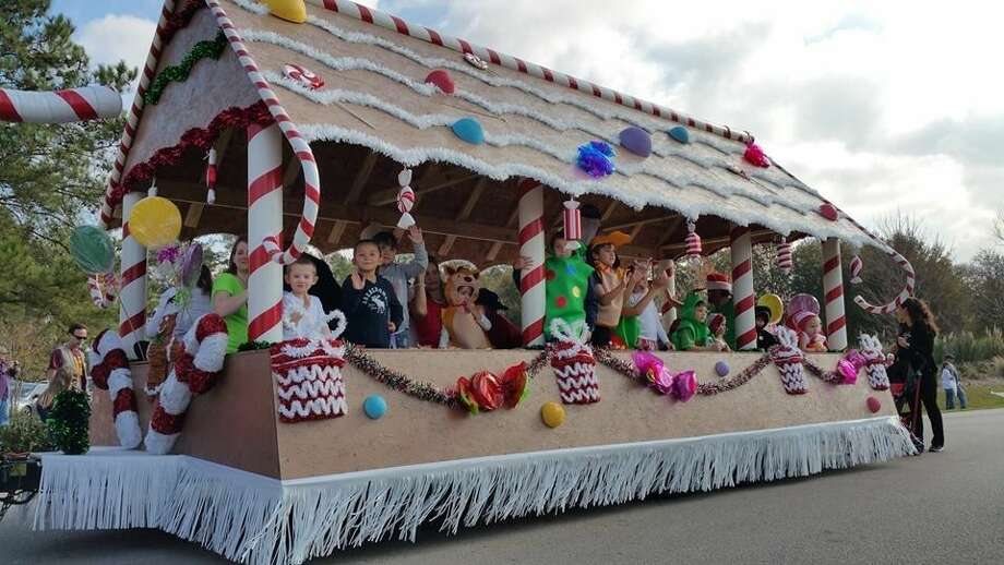Quadvest was named Best Overall Entry in the 2014 Magnolia Christmas Parade. The parade was held on Dec. 13 as part of Magnolia's Hometown Christmas. Photo: Submitted