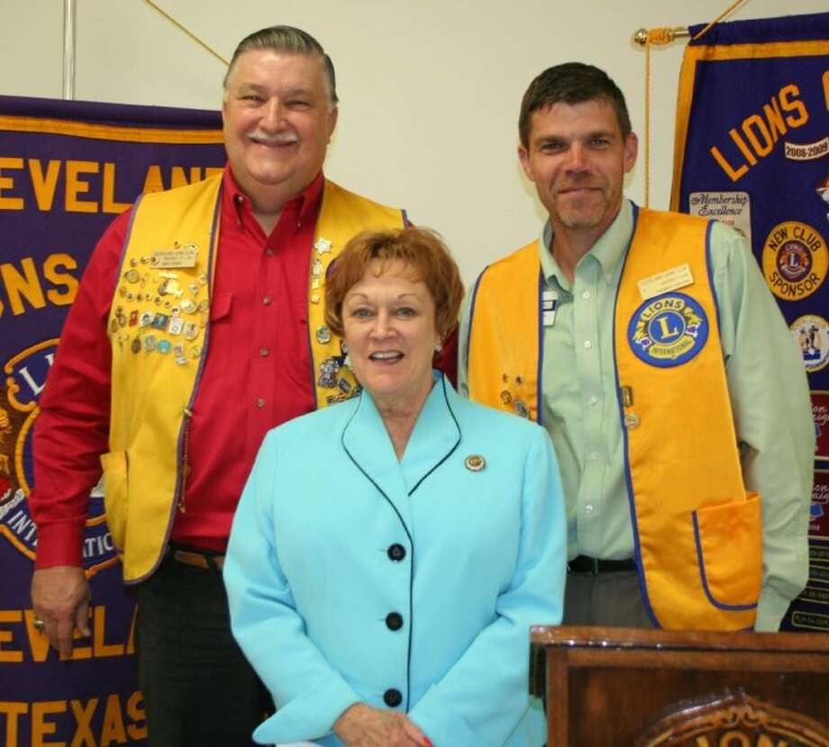 Linda Woods, the director of the Cleveland Convention and Visitor's Bureau (CVB), spoke at the July 15 meeting of the Cleveland Lions Club.