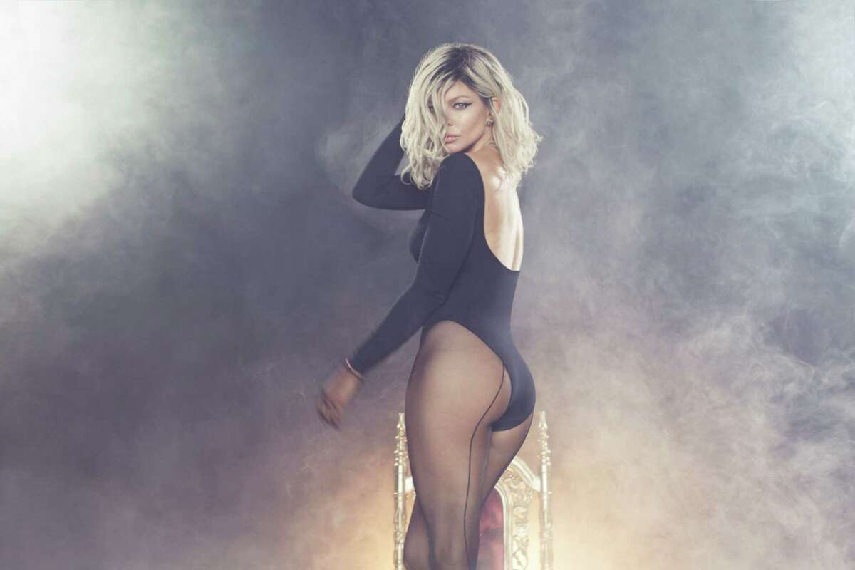 Fergie performs at Mohegan Sun Arena on Saturday, Oct. 15.