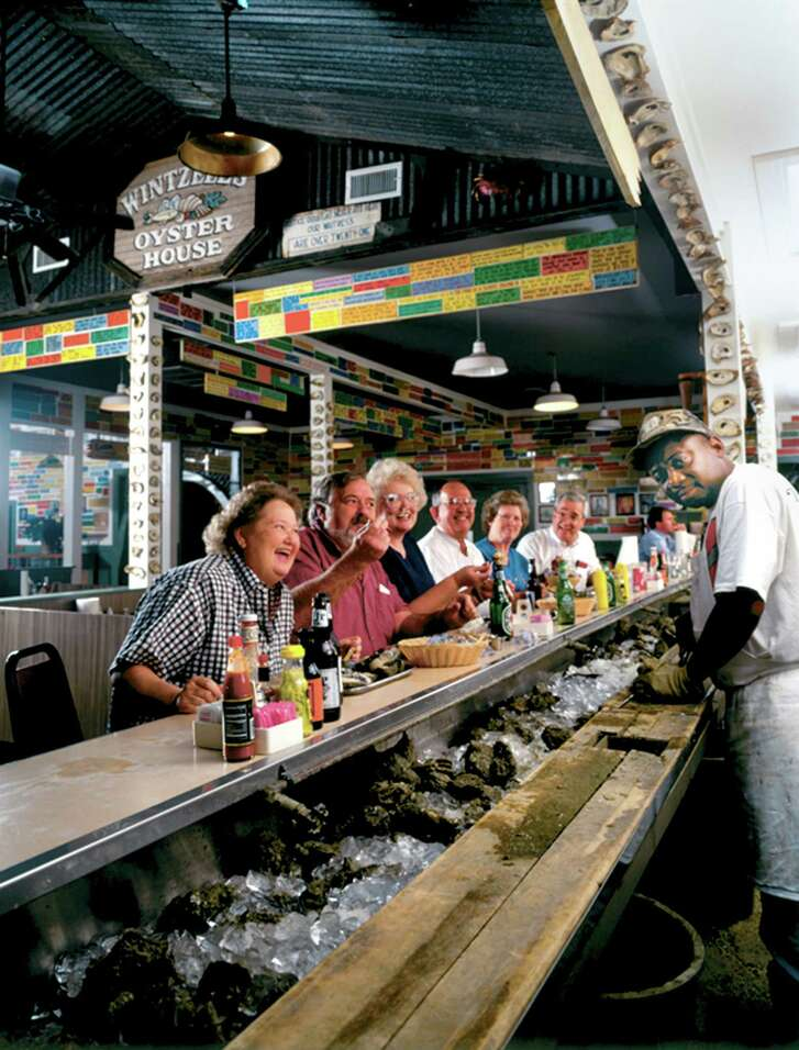 """Willie Brown has shucked oysters at Wintzell's in Mobile, Ala., for 40 years. Oyster lovers can get them """"fried, stewed or nude."""""""