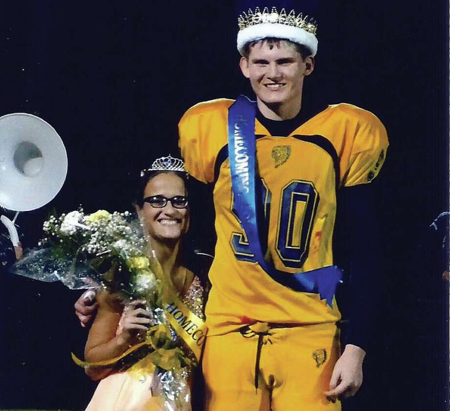 The 2016 North Huron Homecoming King and Queen are Madison Schoenfeldt and Brendan Breuss. (Submitted Photo)