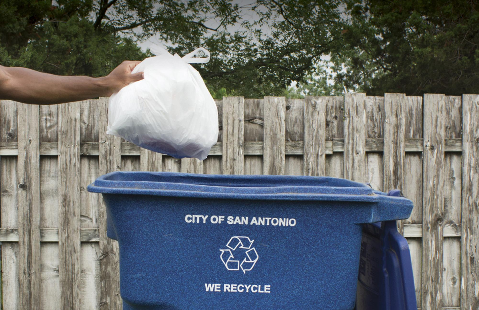 plastic bag recycling plunges in s.a. - san antonio express-news