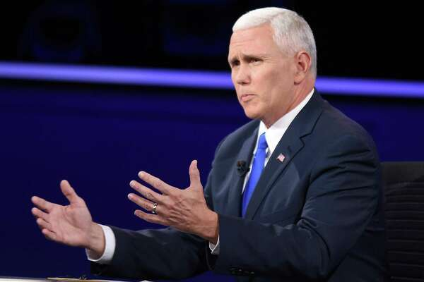 Republican vice presidential nominee Mike Pence, who talks about his deep religious faith on the campaign trail, has twisted himself into pretzels trying to explain away Donald Trump's excesses.