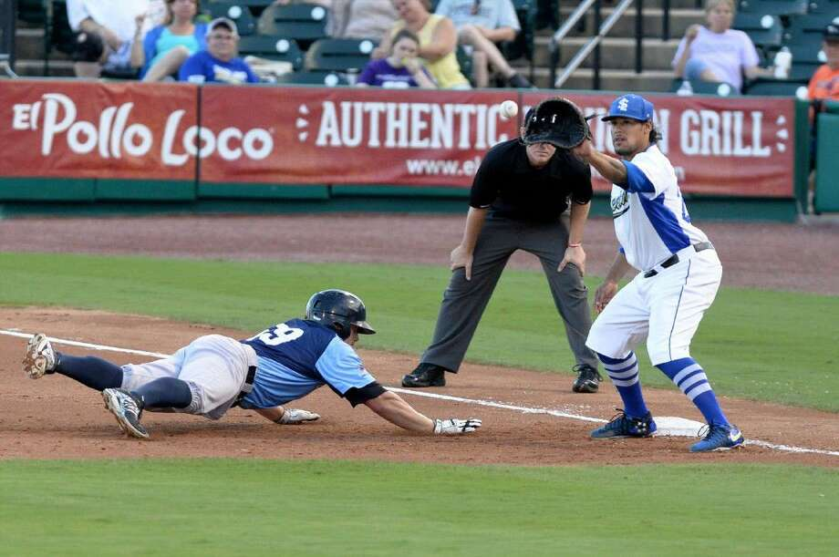 Delwyn Young and the Sugar Land Skeeters swept Southern Maryland to clinch the Atlantic League Freedom Division second-half championship. The Skeeters are in the playoffs for the third time in four years. Photo: Craig Moseley