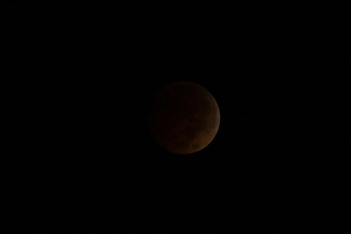 The second and last lunar eclipse of 2014 gave sky watchers a chance to see a
