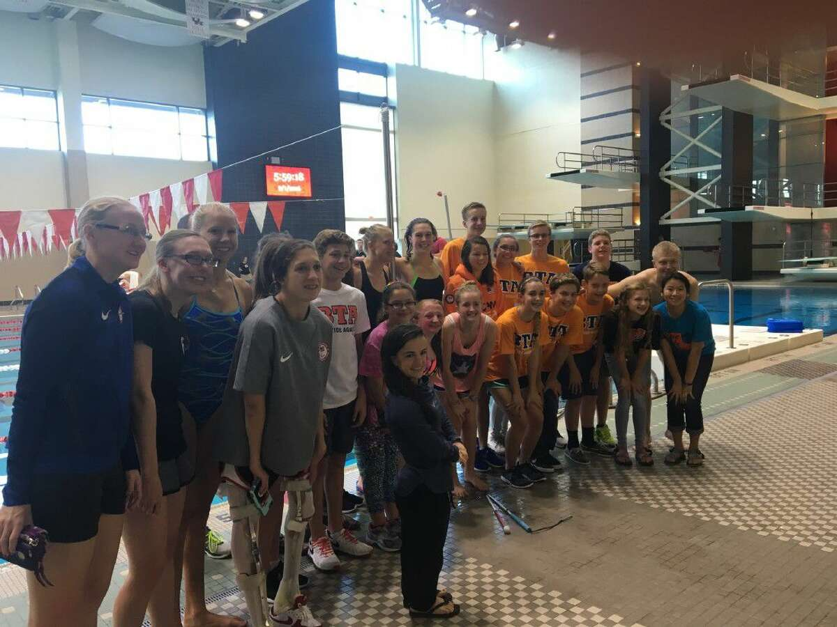 As the USA Paralympics swimming team practiced for their trip to Rio de Janeiro to compete against other countries, a group of swimmers from the Blue Tide Aquatics swim team had the chance to meet the athletes and learn more about their stories.