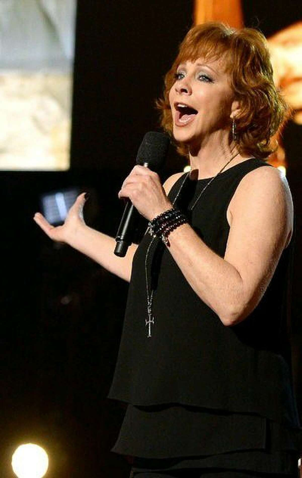 Recording artist Reba McEntire will perform at Smart Financial Centre, 18111 Lexington Blvd., Sugar Land, at 8 p.m. Jan. 27. Above, she's on stage at the 2016 American Country Countdown Awards on May 1.