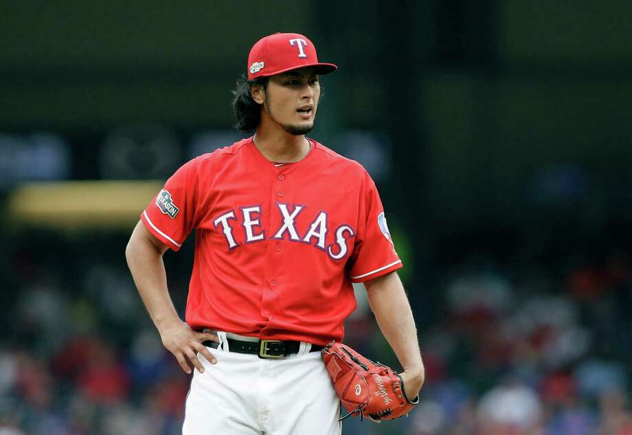 7a7a3be5e Texas Rangers pitcher Yu Darvish