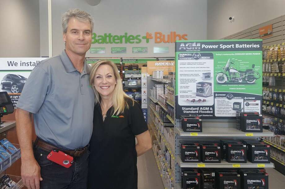 Stan and Chris Shook opened their Batteries Plus Bulbs store in Humble on Sept. 21.