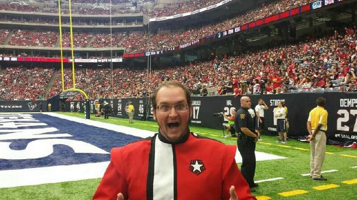 When the Lamar University band hit the field in NRG Stadium during halftime at the Kansas City/Texans game at NRG Stadium, it was a special moment for 2016 Splendora Early College High School graduate Anthony Grizzaffi.