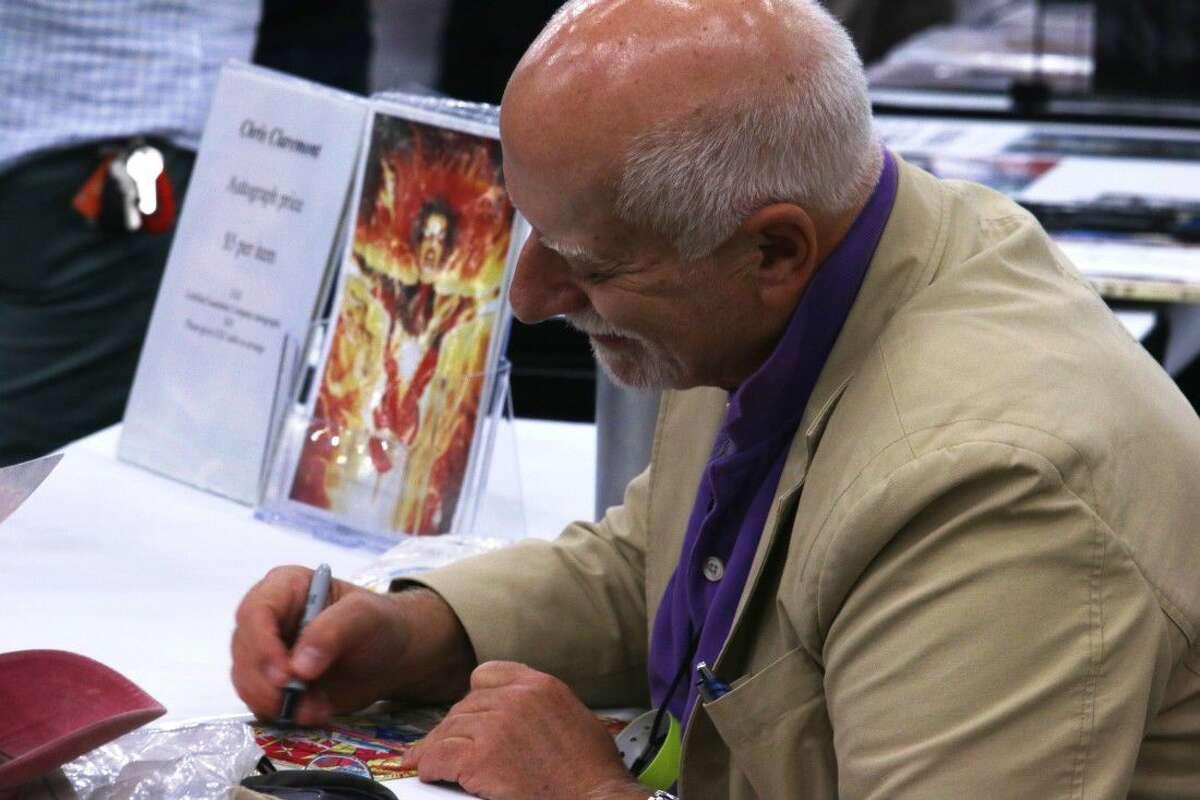 Headliner Chris Claremont, prolific writer of Marvel's