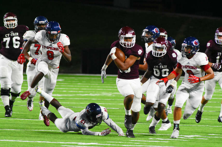 Cy-Fair has proven itself to be one of the top teams - if not the top team - in the district through three games. The Bobcats are the perfect blend of staunch, tough defense and competent, effective offense and are likely to not only make the playoffs, but also do some damage when they get there.  Photo: Tony Gaines