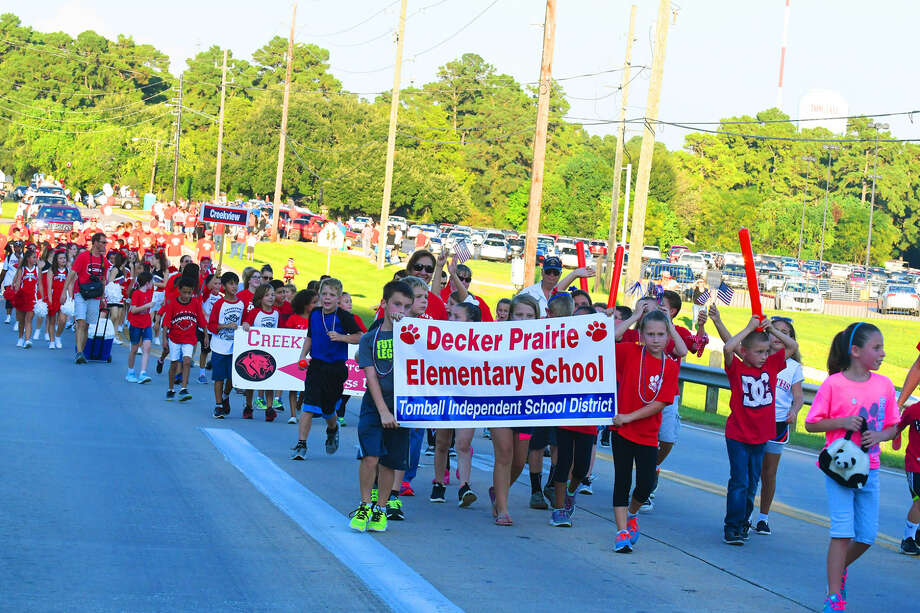 The annual Tomball High School Homecoming Parade and pep rally, held Wednesday, Sept. 14, 2016, enjoyed a bump in attendance this year, per Tomball High School Football head coach Danny Ramsey. Photo: Tony Gaines