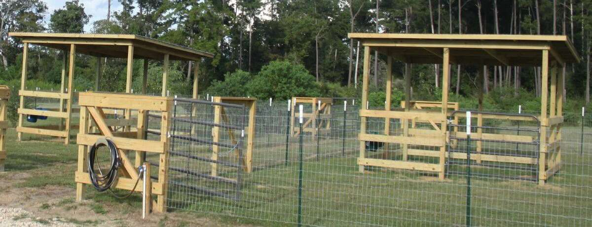 New Adventure RV Park and Horse Hotel has three 60' x 60' horse pens, which are perfect for the local Coldspring area.