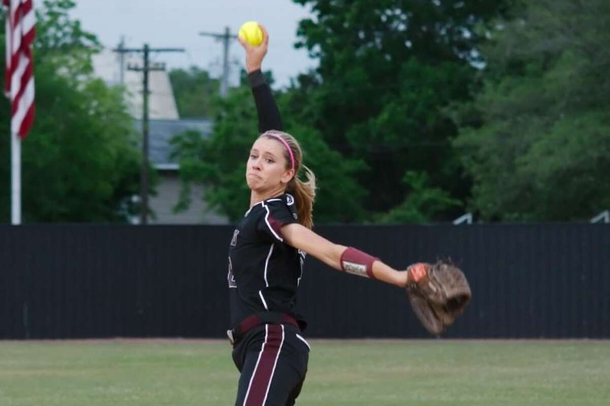 Pearland pitcher Alyssa Denham picked up a pair of victories Thursday and Friday in the Lady Oilers' sweep of their area round softball matchup with Fort Bend Clements.