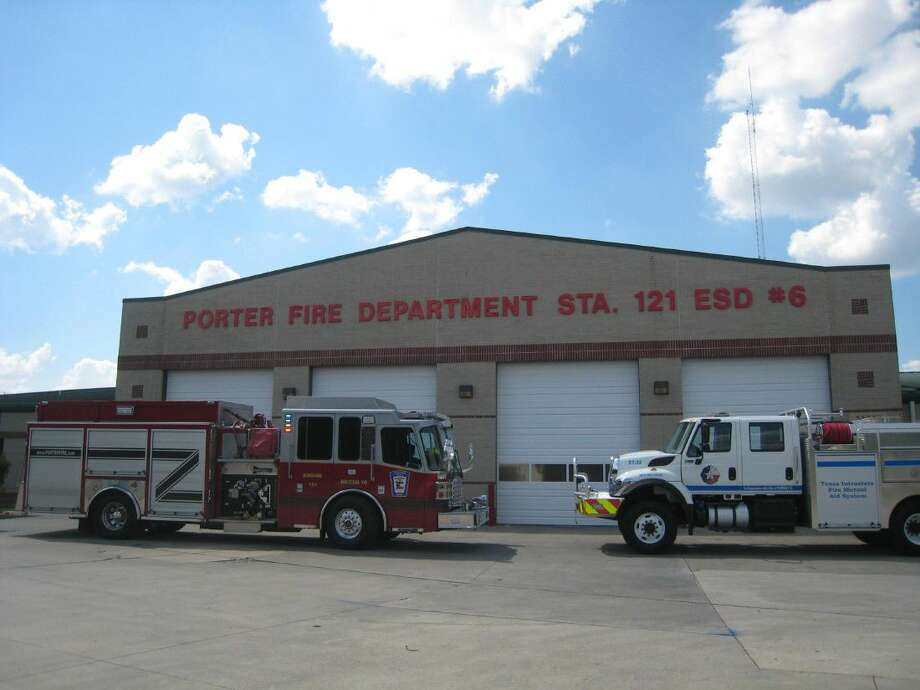 To aid their continued efforts, the Porter Fire Department received a specialty apparatus vehicle, a Type III Engine, right, through a Texas Intrastate Mutual Aid System grant program Sept. 13.