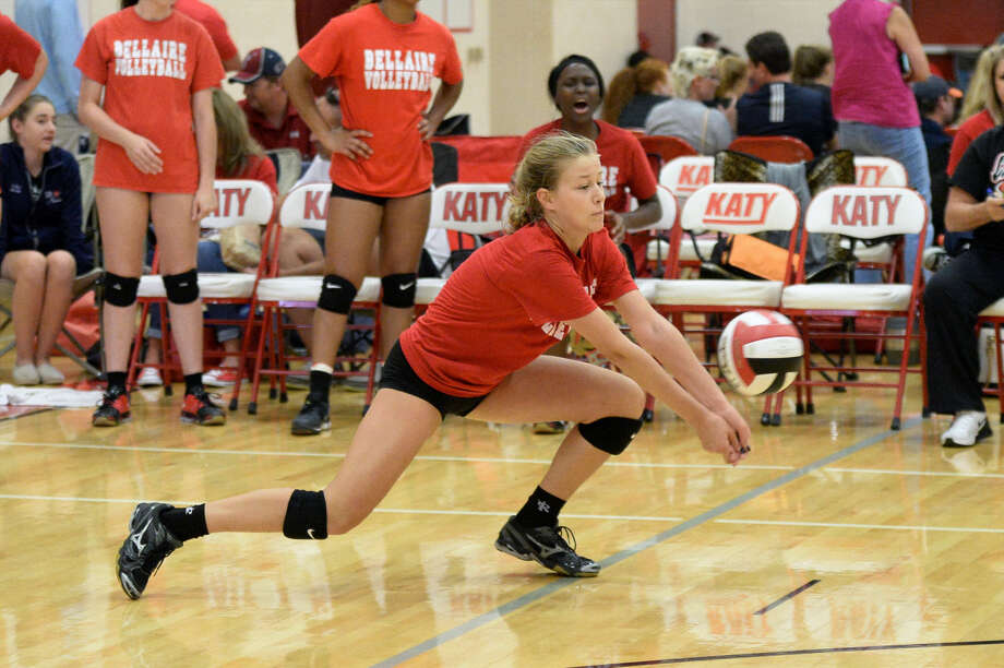 The Bellaire volleyball team swept Carnegie Vanguard, Houston Math, Science & Tech, Heights and Chavez for a 4-0 start to District 18-6A play. The Lady Cardinals continue league action against Lamar on Sept. 23. Photo: Craig Moseley