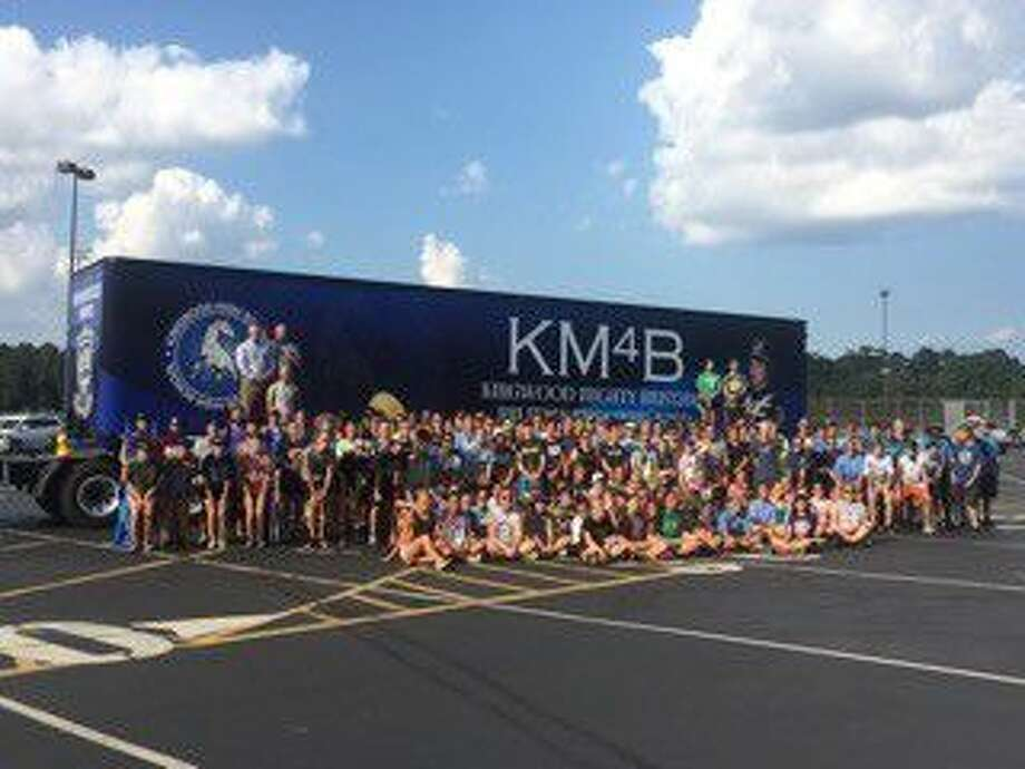 On Sept. 20, this project became a reality as the newly finished trailer pulled into the KHS parking lot with horns honking full blast and surprised the band students who were practicing for the upcoming halftime show for the football game against Atascocita.