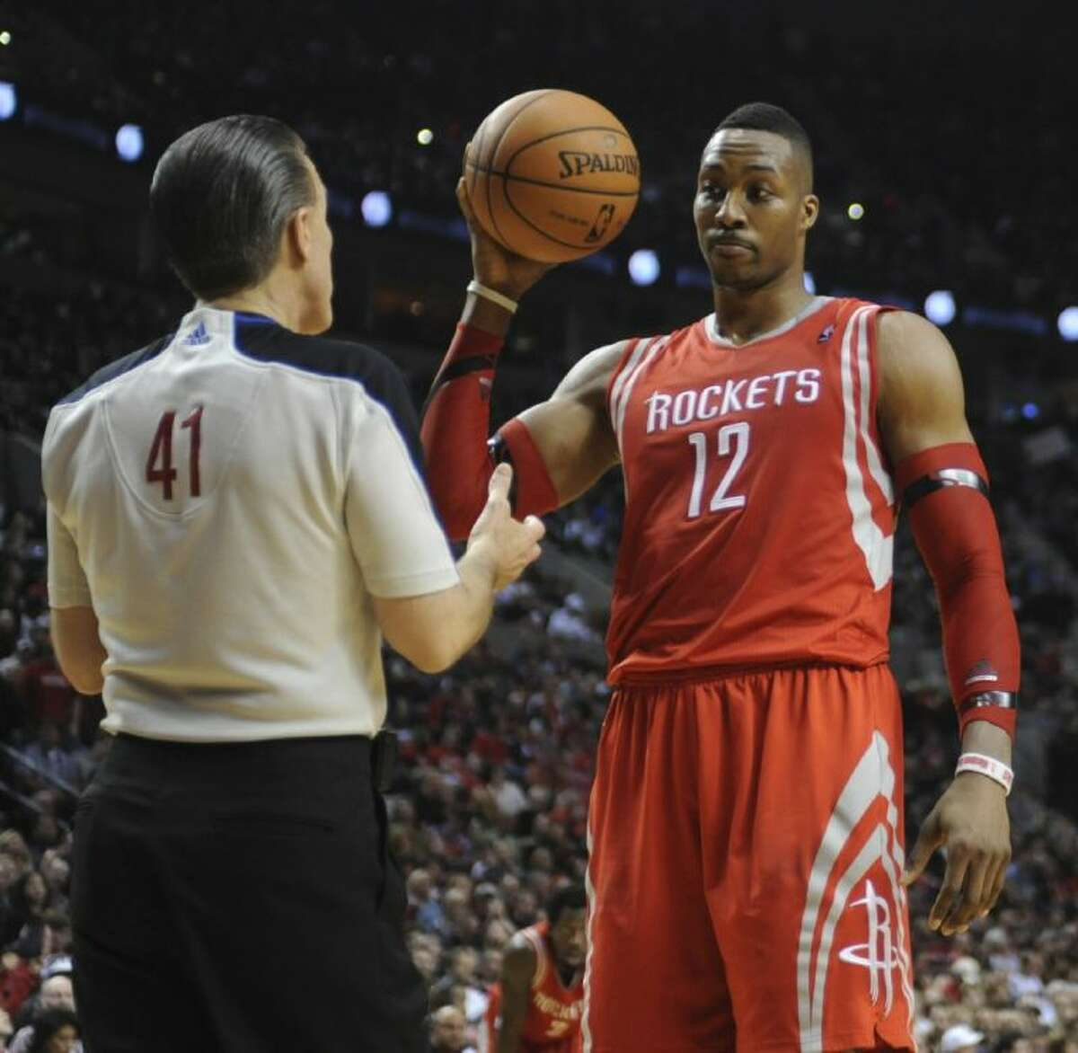 Dwight Howard and the Rockets are backed into a corner by the Portland Trail Blazers.